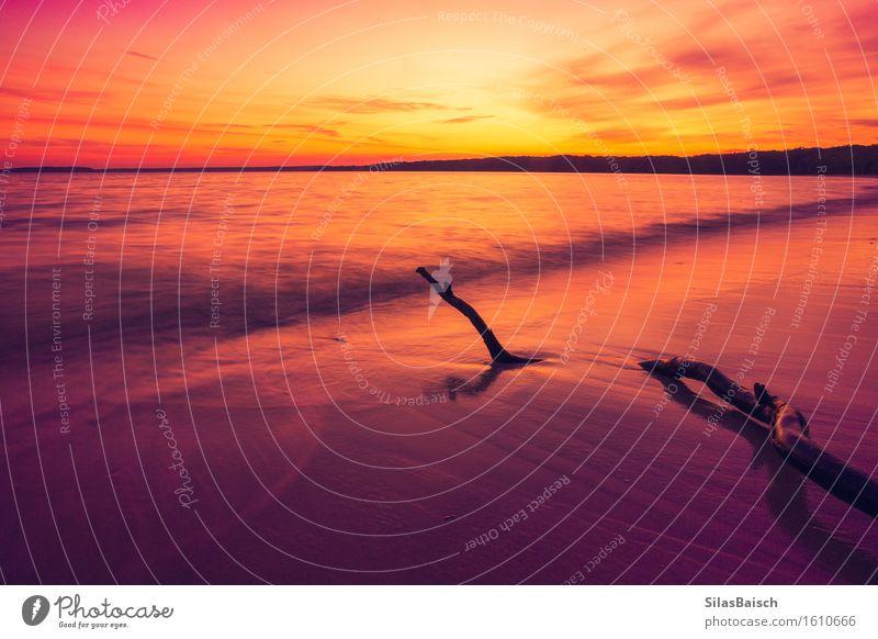 Ein weiterer Sonnenaufgang im Paradies II Lifestyle Freude Glück Ferien & Urlaub & Reisen Tourismus Ausflug Abenteuer Ferne Freiheit Expedition Camping Sommer