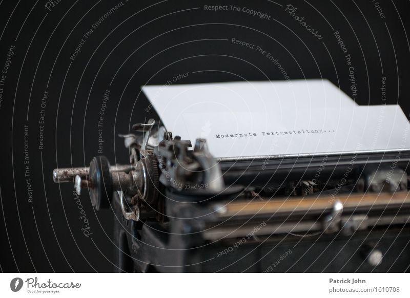 Texter sprechen Büro Schriftzeichen Erfolg schreiben Erwachsenenbildung Schreibtisch Tastatur Werbebranche Geschichtsbuch Schriftsteller Schreibmaschine