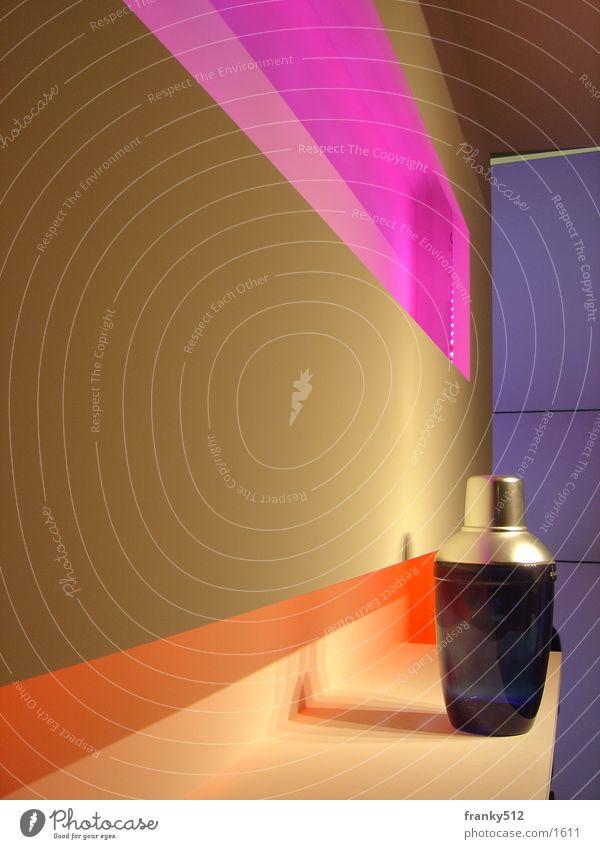 einsame flasche Regal Licht purpur Flasche orange euroshop