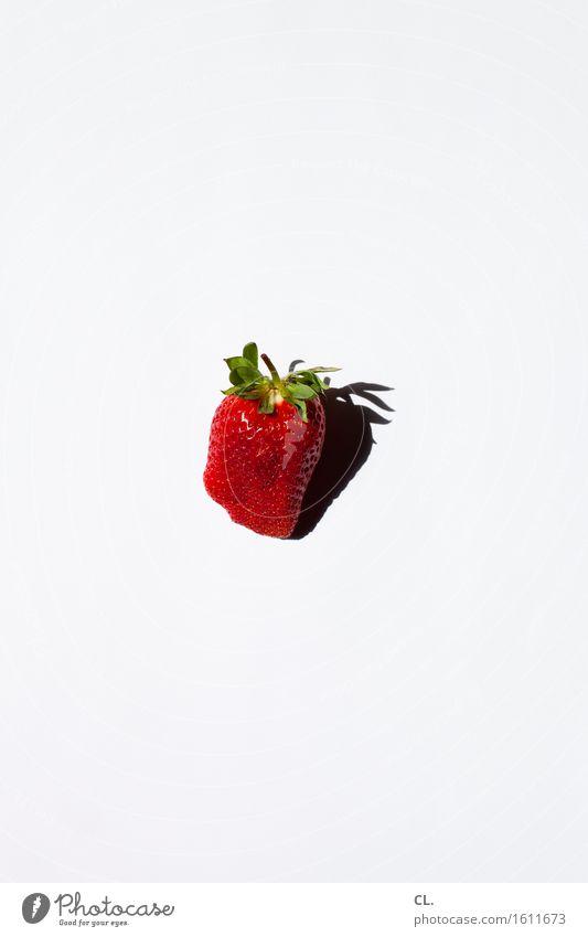 was zur verfügung stand / erdbeere grün weiß Gesunde Ernährung rot Essen natürlich Gesundheit Lebensmittel Frucht Ernährung ästhetisch einfach lecker Bioprodukte Vegetarische Ernährung Diät