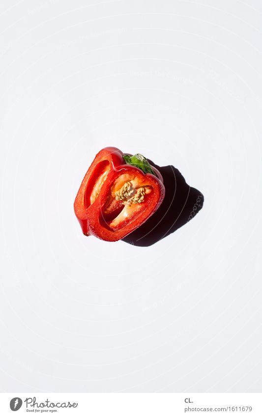 was zur verfügung stand / rote paprika weiß Gesunde Ernährung Essen Gesundheit Lebensmittel Frucht ästhetisch einfach lecker Bioprodukte Vegetarische Ernährung