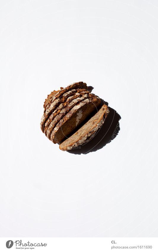 was zur verfügung stand / geschnitten brot weiß Gesunde Ernährung Essen Lebensmittel braun einfach lecker Bioprodukte Frühstück Brot Backwaren