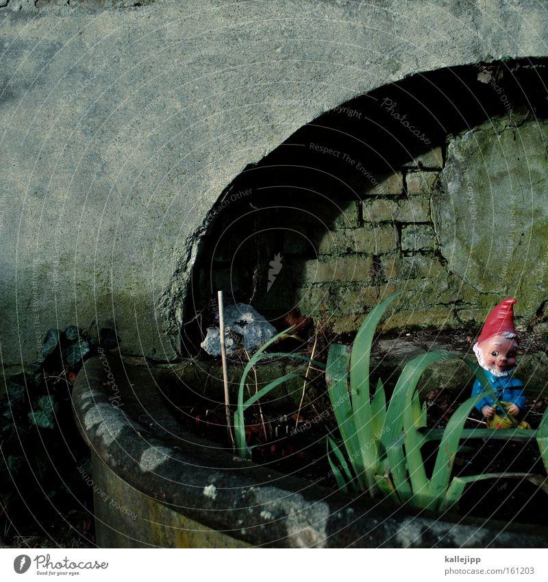 der grosse zampano schön Pflanze Stil Garten Park klein Design süß Dekoration & Verzierung Torbogen Bogen Fensterbogen Gärtner Zwerg Spießer Lilien