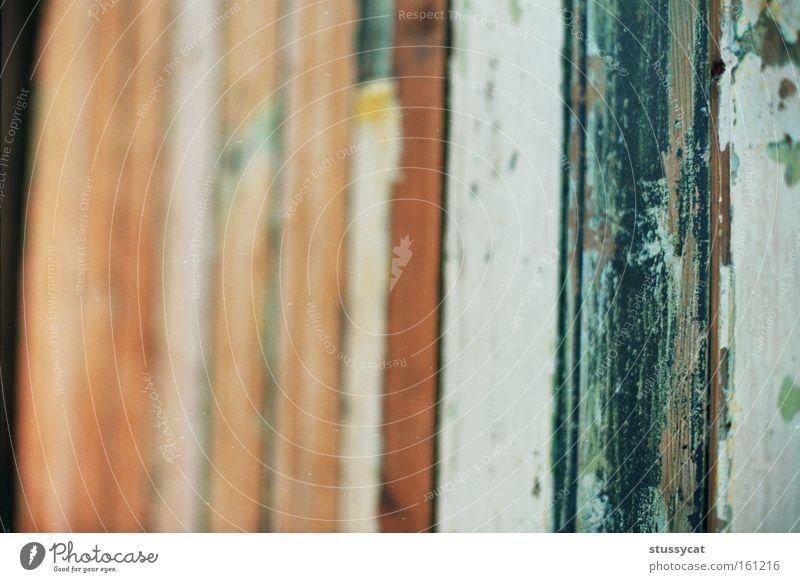 alt Farbe Wand Holz Mauer Linie streichen durcheinander Asien Taiwan