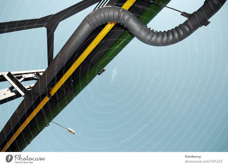 das beste z Industrie Industriefotografie Fabrik Baustelle Stahl Handwerk Eisenrohr Leitung Schlauch Pipeline Erdgaspipeline Erdölpipeline Wasserrohr Raffinerie