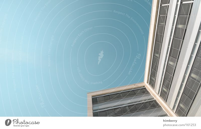 konjunkturpaket Gebäude Architektur Bürogebäude Haus Fassade Rollladen Jalousie Wirtschaft Wirtschaftskrise Aufschwung Konjunktur modern Qualität