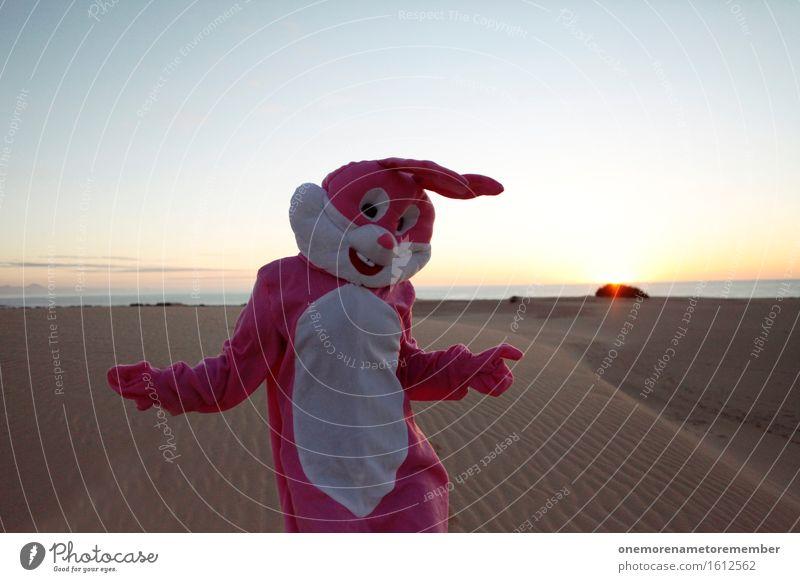 Sonnentanz Kunst Kunstwerk ästhetisch rosa Hase & Kaninchen Hasenohren Hasenzahn Hasenpfote Tanzen Tanzveranstaltung Disco Surrealismus Freude spaßig Spaßvogel