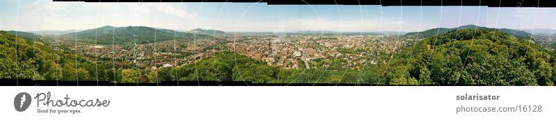 freiburg in schönem breisgau groß Europa Panorama (Bildformat) Freiburg im Breisgau Baden-Württemberg