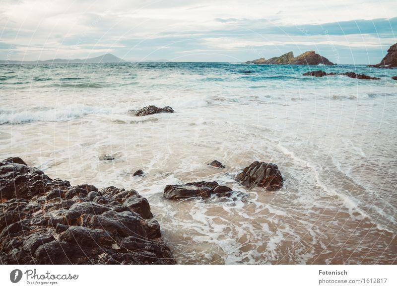 Tasmanische See Ferien & Urlaub & Reisen Wasser Meer Erholung Strand Umwelt Küste Stein Felsen Tourismus Erde Wellen