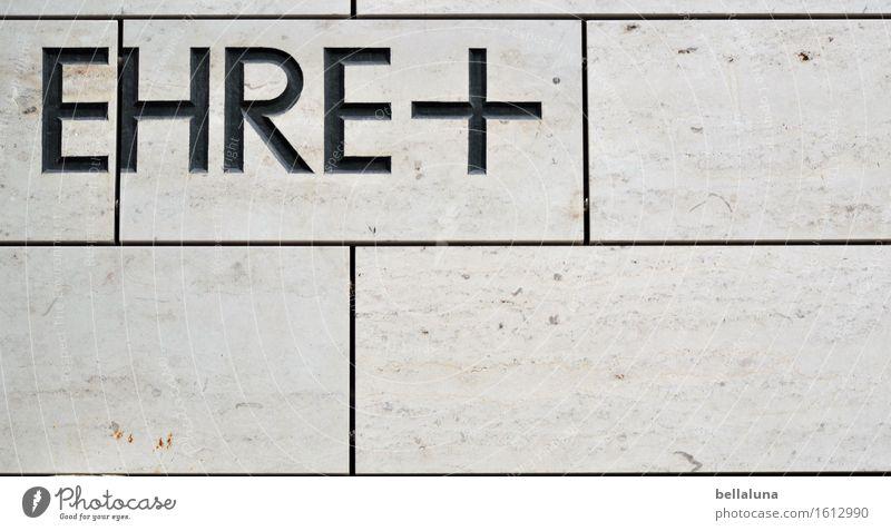 Ehre + ... Menschenleer Bauwerk Architektur Sehenswürdigkeit Wahrzeichen Denkmal authentisch grau schwarz Stimmung Tapferkeit selbstbewußt Kraft Mut
