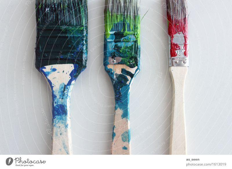 Malen und Lackieren Leben Häusliches Leben Dekoration & Verzierung Anstreicher Handwerk Werkzeug Kunst Künstler Maler Gemälde Pinsel Pinselstrich Borstenpinsel