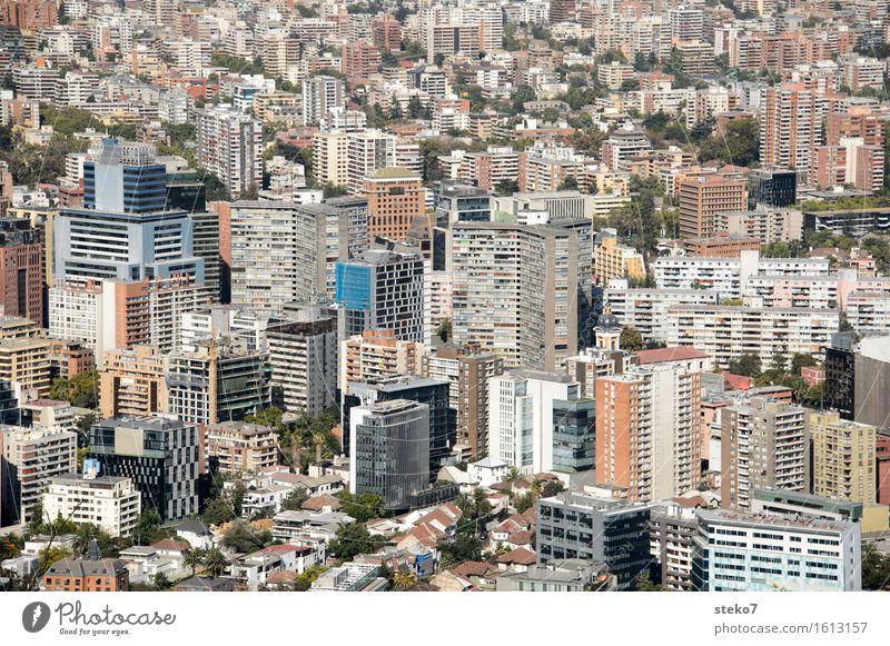 Santiago de chile stadt ein lizenzfreies stock foto von for Architektur chile