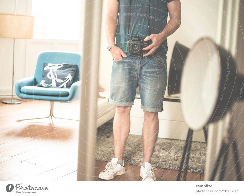 Sommer-Selfie ohne Kopf Lifestyle Stil Freude Freizeit & Hobby Fotografieren Ferien & Urlaub & Reisen Häusliches Leben Wohnung Innenarchitektur