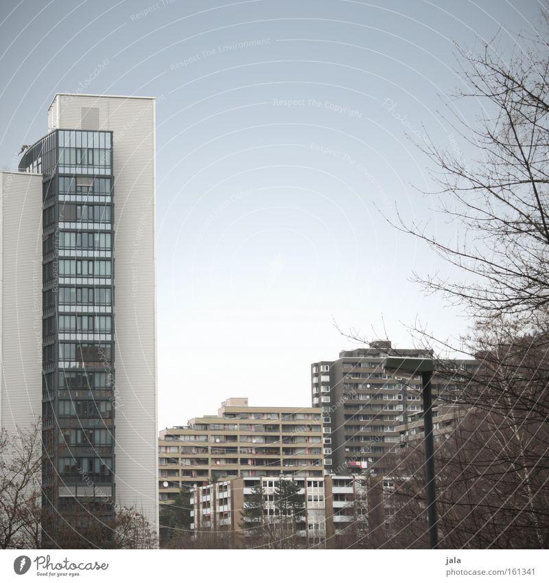 wohnsiedlung Himmel Haus Deutschland Wohnung Hochhaus Häusliches Leben Stadtteil Wohnsiedlung Viertel