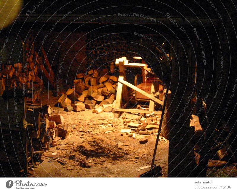 mein holzschuppen nachts... Arbeit & Erwerbstätigkeit Holz Freizeit & Hobby Digitalfotografie
