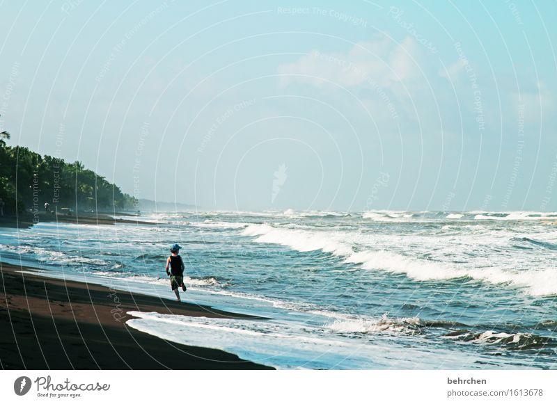 *600*...GIGANTISCH(e wellen) Mensch Kind Himmel Ferien & Urlaub & Reisen Sommer Meer Wolken Ferne Strand Küste Junge Familie & Verwandtschaft Glück Freiheit