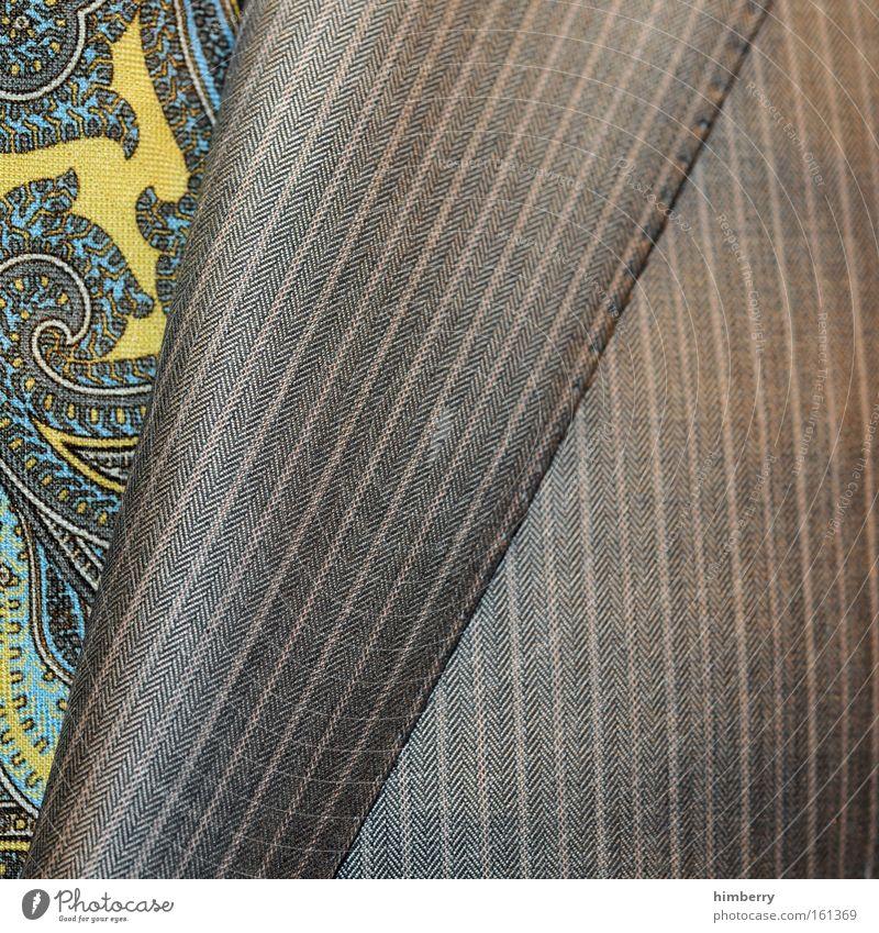 dress to kill Mann schön Stil Erwachsene elegant Mode Erfolg Bekleidung Lifestyle Stoff einzigartig Geldinstitut Jacke Reichtum Anzug