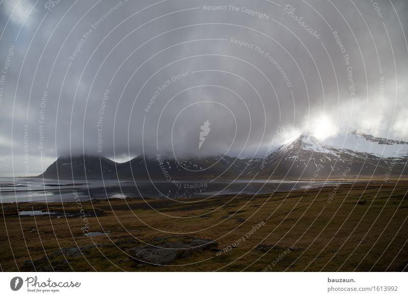 wolken. Himmel Natur Ferien & Urlaub & Reisen Wasser Landschaft Einsamkeit Wolken Ferne Winter Berge u. Gebirge Umwelt Gras Schnee Freiheit Tourismus Wetter