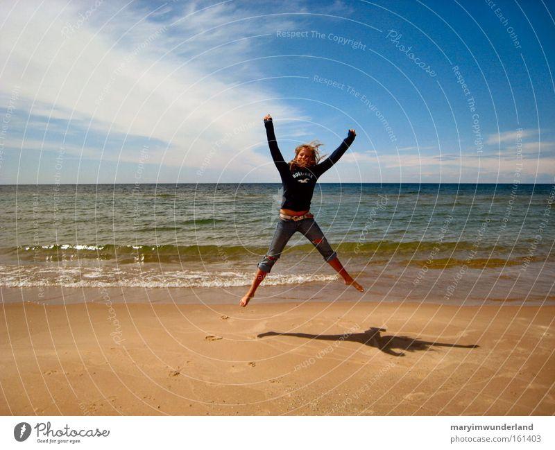 xpedia Wasser Meer Freude Strand Leben Freiheit Glück springen