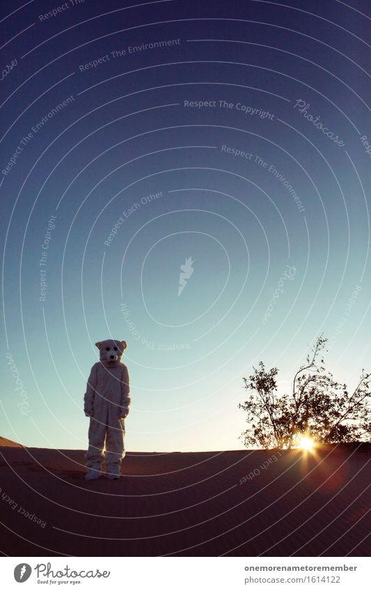 ICH SEHE EISBÄREN! Kunst Kunstwerk ästhetisch Geister u. Gespenster geheimnisvoll Mysterium außerirdisch Außerirdischer Planet Erde außergewöhnlich Kostüm