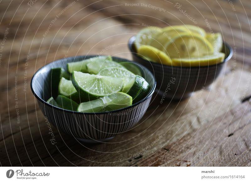 Limetten & Zitronen Lebensmittel Frucht Ernährung Essen Limonade Stimmung gelb grün zitronengelb Schalen & Schüsseln sauer Geschmackssinn geschmackvoll Farbfoto