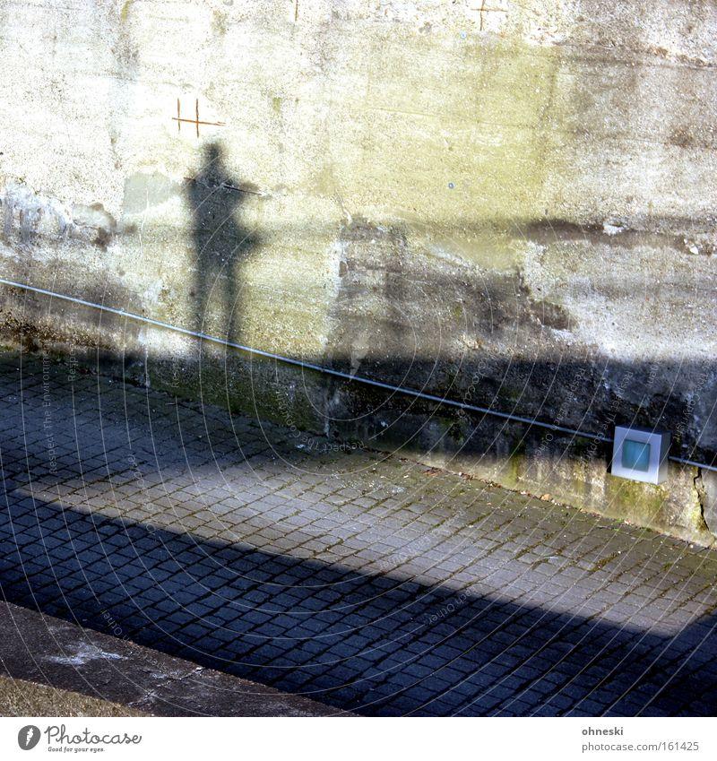 Schönes Wochenende Mann Sonne Wand Wege & Pfade Garten Mauer Park Brücke Geländer Ruhrgebiet Brückengeländer Fotograf Selbstportrait Bochum Nordrhein-Westfalen