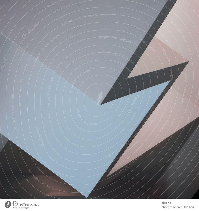 E Wand grau Architektur modern Innenarchitektur Grafik u. Illustration Typographie graphisch minimalistisch Pastellton Symbole & Metaphern