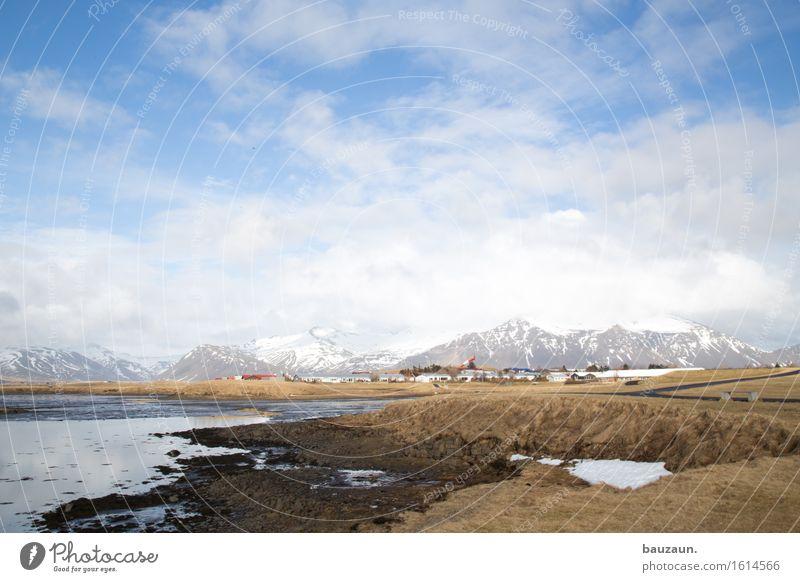 stadt. Himmel Natur Ferien & Urlaub & Reisen Sonne Landschaft Wolken Ferne Winter Berge u. Gebirge Umwelt Wege & Pfade Gras Schnee Freiheit Tourismus Wetter