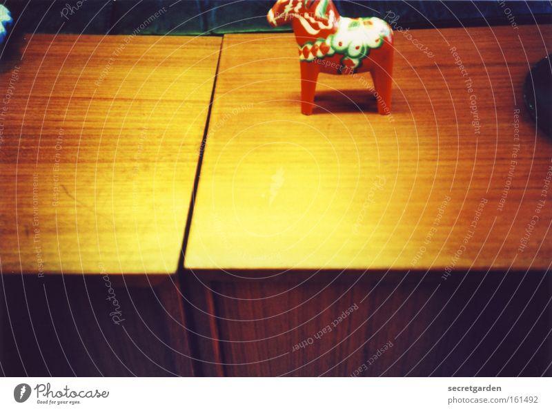 pferd in groß. alt schön rot gelb Spielen Kunst Wohnung Freizeit & Hobby leuchten Dekoration & Verzierung Tisch Ecke Pferd streichen Kitsch Möbel