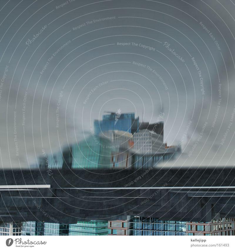 tod in venedig Stadt New York State Bürogebäude Hochhaus Potsdamer Platz Sony Center Berlin Glas Architektur modern Arbeit & Erwerbstätigkeit