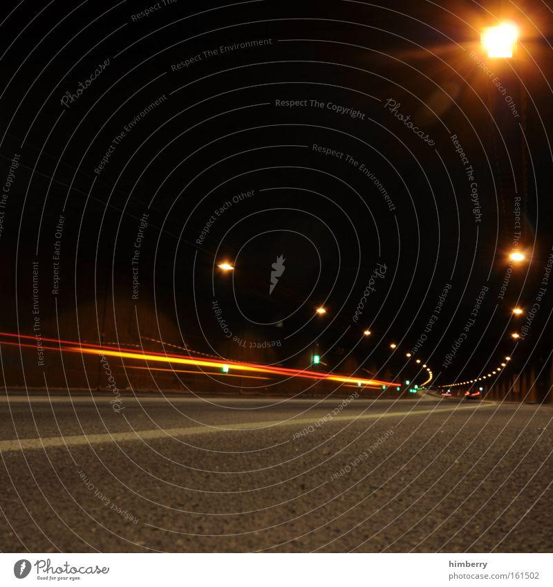 fire in the hole schwarz Straße Wege & Pfade Beleuchtung Kraft Design Verkehr Energiewirtschaft Geschwindigkeit Coolness bedrohlich Technik & Technologie Güterverkehr & Logistik Autobahn Rennsport Tunnel