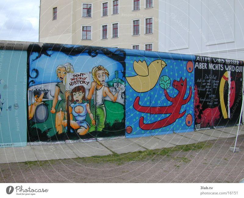 berliner mauer-history repeatin' Berlin Mauer Graffiti Vergangenheit historisch Politik & Staat