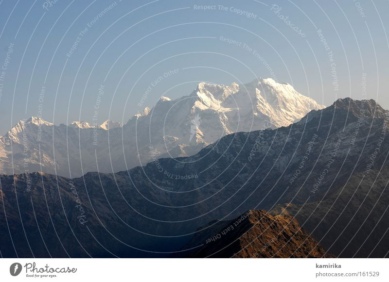 himalayan Berge u. Gebirge Landschaft Indien wandern Gletscher Glacier Nationalpark Natur mountains Himalaya peak Spitze landscape