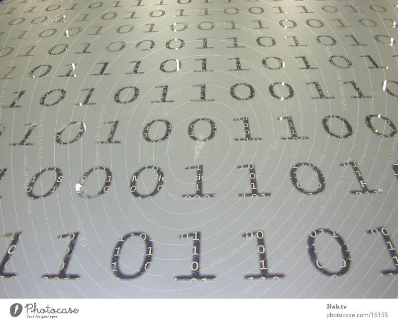 binary conspiracy Ziffern & Zahlen Reaktionen u. Effekte Kennwort Technik & Technologie Glasfassade CeBIT Binärcode