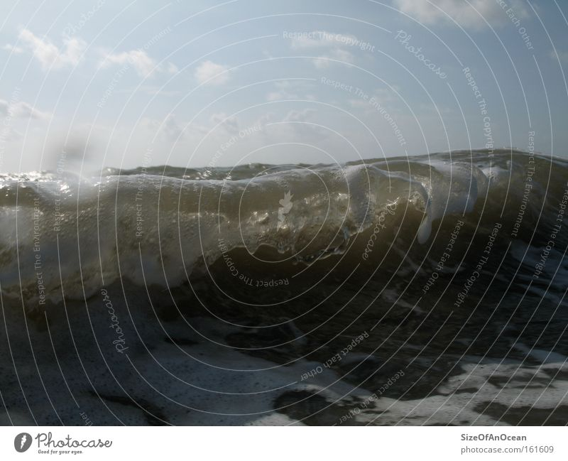 Little Big Wave Wellen Meer Wasser Strand Küste London Underground Erdgaspipeline