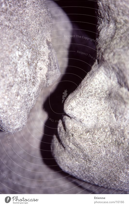 Liebe kalt Stein Skulptur