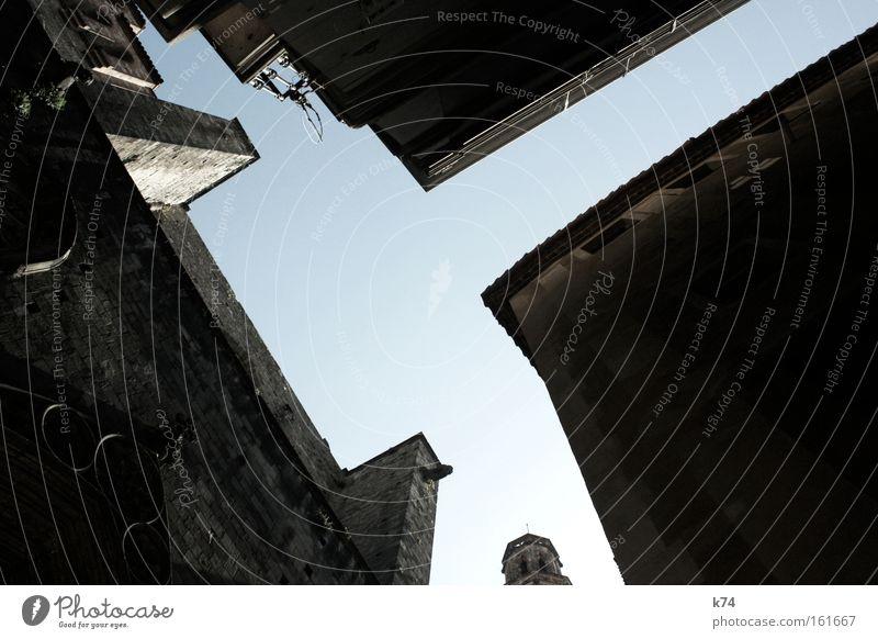 Y alt Religion & Glaube Architektur Fassade Kirche Antenne Barcelona Süden Gotik Gasse Kathedrale Gotteshäuser Mittelalter Gemäuer Ypsilon