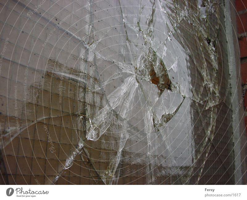 glasblaster Splitter Fototechnik Glas trashig