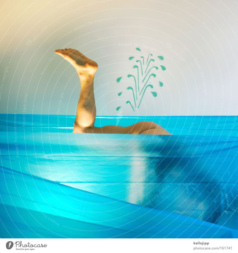 moby dick Mensch Wasser nackt Beine Wellen Schwimmen & Baden Suche Gesäß Hinterteil tauchen Comic Schwimmhilfe Wassersport Flosse Wasserfontäne