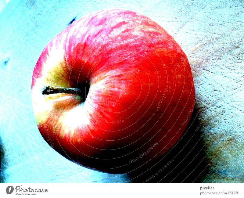 apfel rot Gesundheit Apfel Frucht Farbe Kontrast