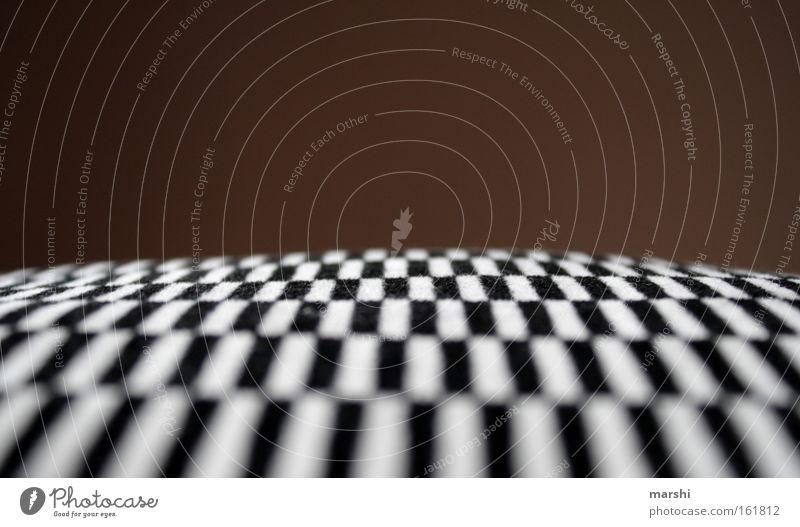 || || || || || weiß schwarz Ferne Perspektive Streifen Wohnzimmer Meinung kariert Kissen
