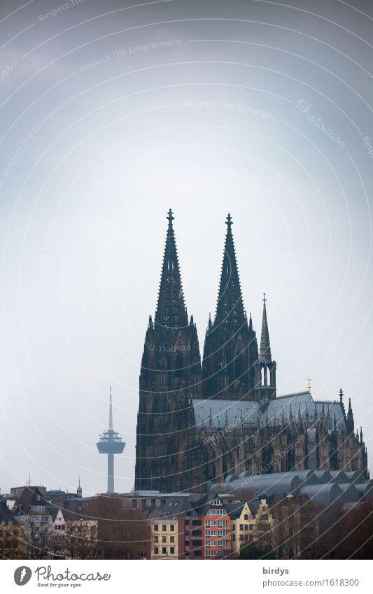 Beau de Cologne Ferien & Urlaub & Reisen Tourismus Städtereise Kölner Dom Stadtzentrum Altstadt Turm Fernsehturm Sehenswürdigkeit Wahrzeichen ästhetisch