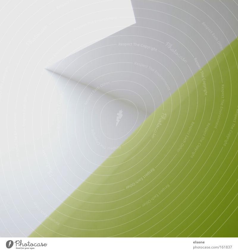 B Grafik u. Illustration graphisch Dreieck Strukturen & Formen Linie minimalistisch weiß Innenarchitektur Gebäude Raum Ausstellung Ecke Zimmerecke