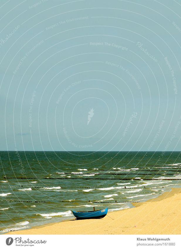Gruß vom Sommer Himmel Natur Ferien & Urlaub & Reisen blau grün Meer Landschaft Strand Umwelt Frühling Herbst Freiheit Schwimmen & Baden Sand Wasserfahrzeug
