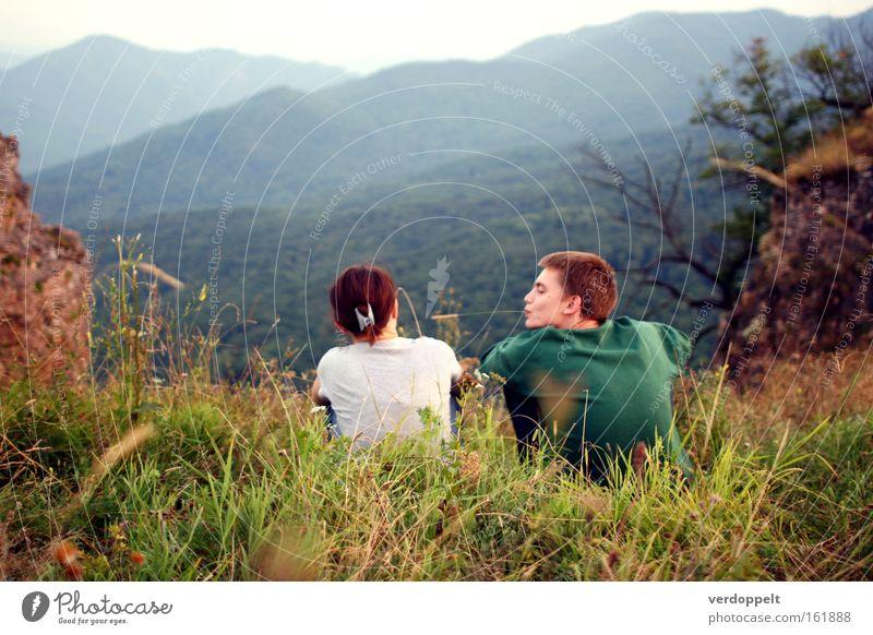 Mensch Natur Liebe Berge u. Gebirge Flirten