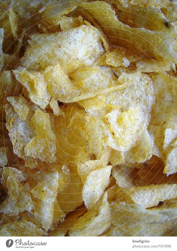 Verboten! Lebensmittel Ernährung Fett Fastfood ungesund Snack Kartoffeln Kalorie Kartoffelchips Gemüse Dickmacher