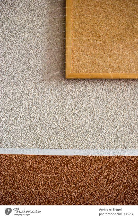 Notizen hier weiß rot Farbe Wand braun Streifen Kommunizieren Putz Zettel Erinnerung beige graphisch Tafel Schreibwaren Schwarzes Brett Kork