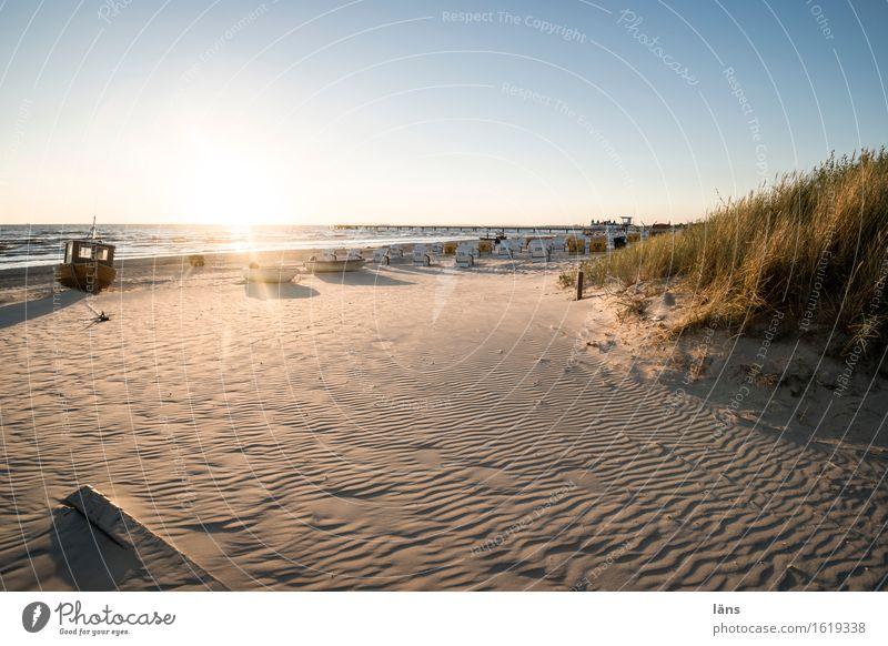 ein neuer Tag am Meer Ferien & Urlaub & Reisen Tourismus Ausflug Freiheit Sommer Sommerurlaub Sonne Sonnenbad Strand Insel Wellen Umwelt Natur Sand Luft Wasser