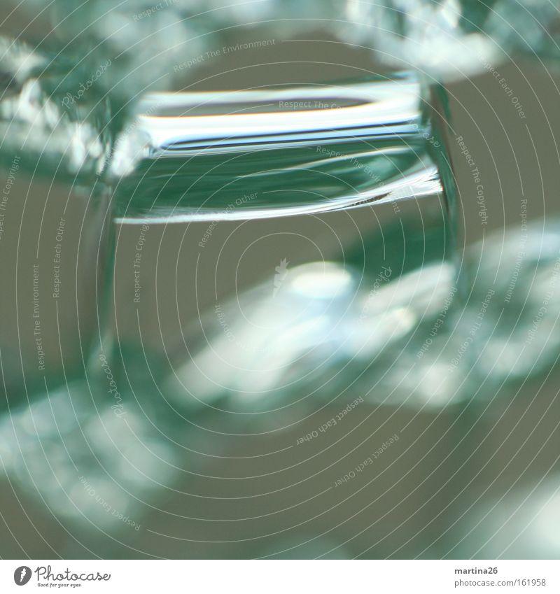 ziemlich abstrakt grün grau Kunst Glas Hintergrundbild einzigartig Dinge bizarr Körperzelle