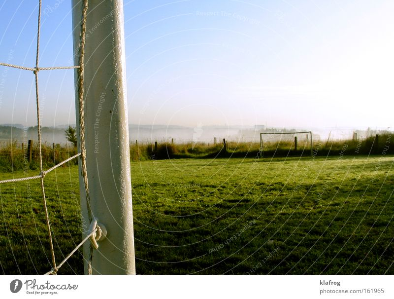 Deutschland vor - noch ein Tor Himmel Sonne Landschaft Sport Spielen Gras Linie Park Fußball Platz Erfolg Ball Netz Sportrasen Eckstoß Tor